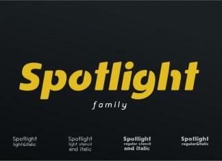 Spotlight Font