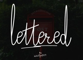 Lettered Font