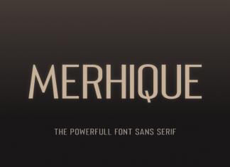 Merhique Family Font