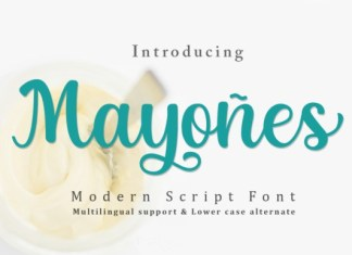 Mayones Font