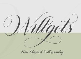 Willgets Font