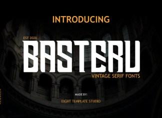 Basteru Font