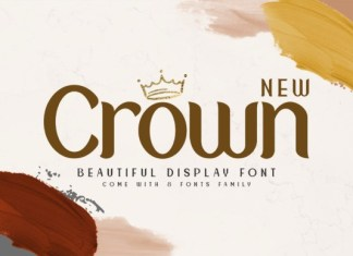 New Crown Font