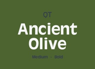 Ancient Olive Font