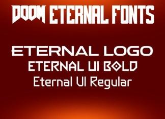 DOOM Eternal Font