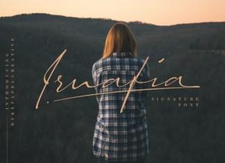 Irnafia Font