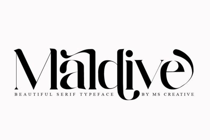 Maldive Font