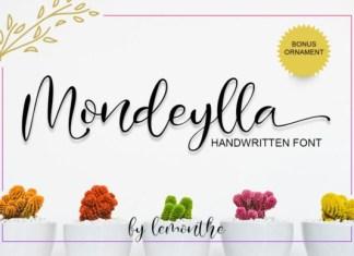 Mondeylla Font