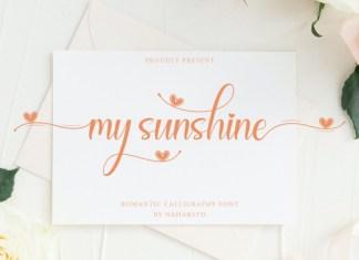 My Sunshine Font