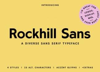 Rockhill Font