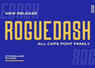 Roguedash Font