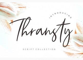 Thransty Font
