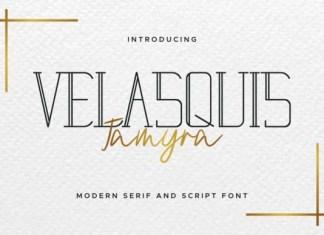 Velasquis Tamyra Font