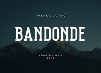 Bandonde Font