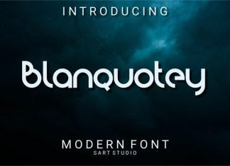 Blanquotey Font