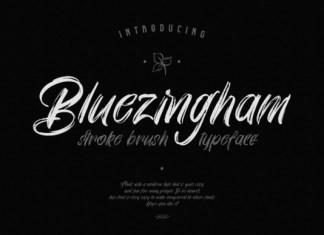 Bluezingham Font