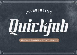 Quickjob Font