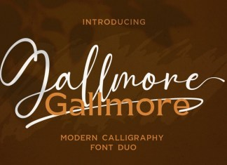 Gallmore Font