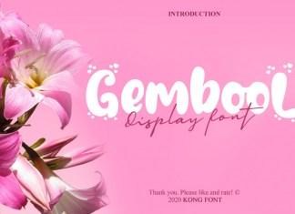 Gembool Font