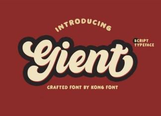 Gient Font