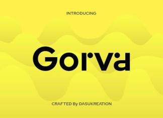 Gorva Font