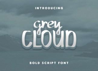 Grey Cloud Font