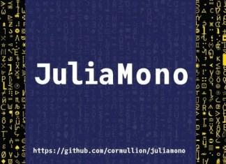 JuliaMono Font