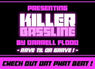 Killer Bassline Font