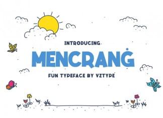 Mencranġ Font
