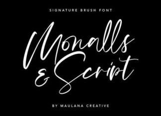 Monalls Font