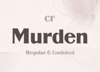 Murden Font