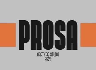 Prosa GT Font