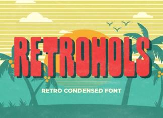 Retrohols Font