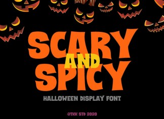 Scary and Spicy Font