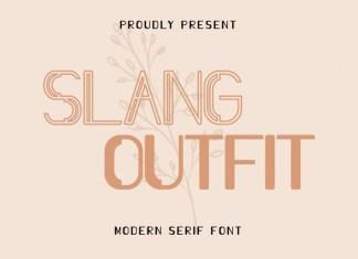 Slang Outfit Font