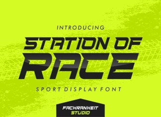 Station Of Race Font