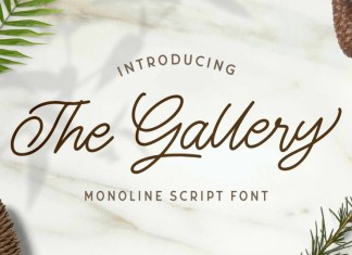 The Gallery Font