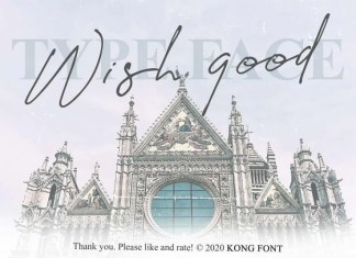 Wish Good Font