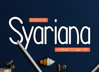 Syariana Font
