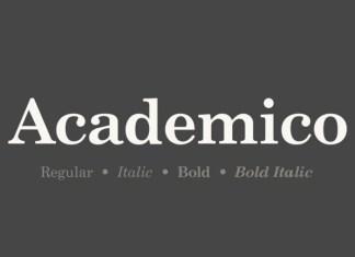 Academico Font