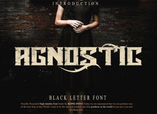 Agnostic Font
