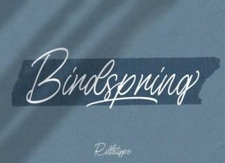 Birdspring Font