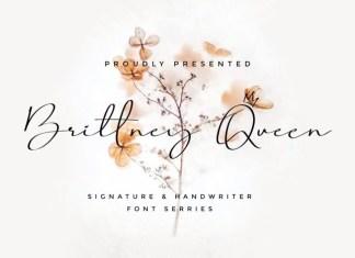 Brittney Queen Font