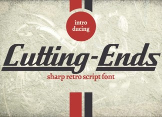 Cutting Ends Font