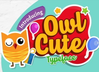 Owl Cute Font