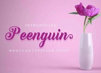 Peenguin Font