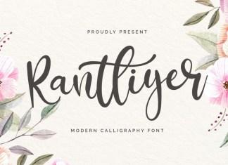 Rantliyer Font