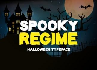 Spooky Regime Font