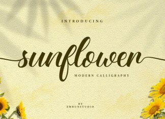 Sunflower Fields Font