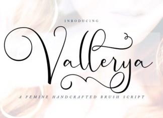 Vallerya Font